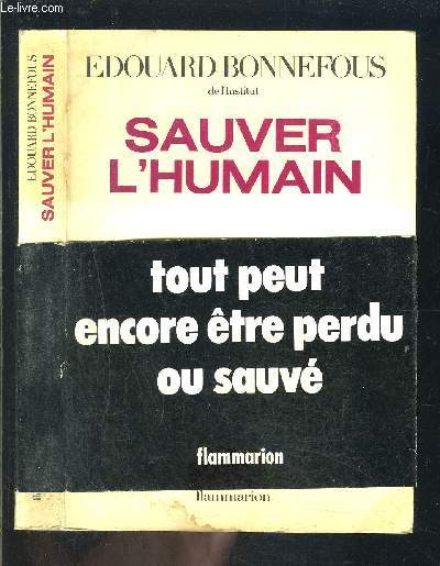 SAUVER L HUMAIN