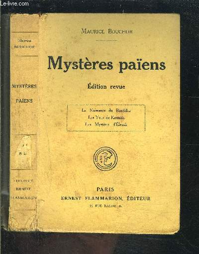 MYSTERES PAIENS