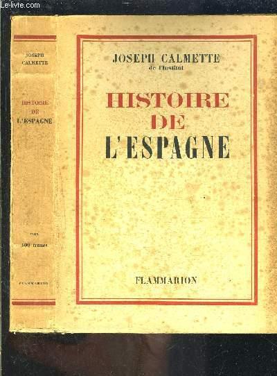 HISTOIRE DE L ESPAGNE