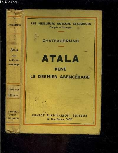 ATALA RENE- LE DERNIER ABENCERAGE