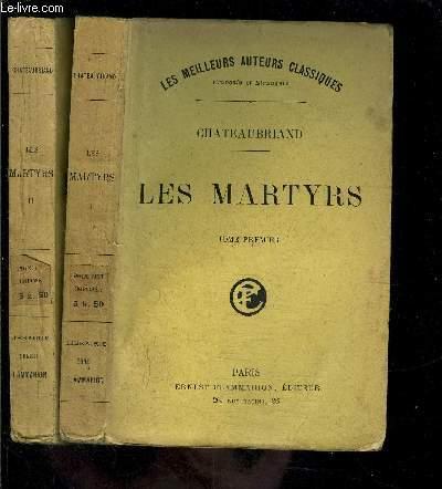 LES MARTYRS- 2 TOMES EN 2 VOLUMES