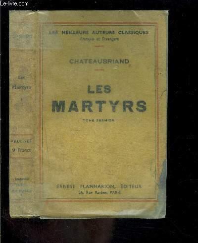 LES MARTYRS- TOME 1 vendu seul