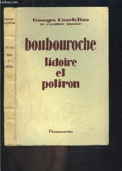 BOUBOUROCHE- LIDOIRE ET POTIRON