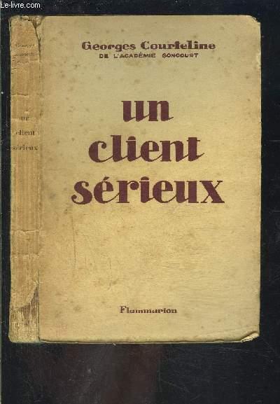 UN CLIENT SERIEUX