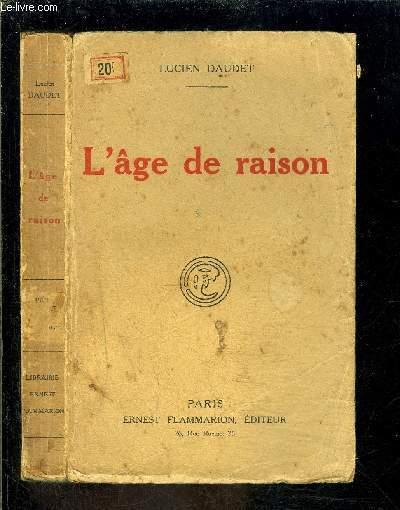 L AGE DE RAISON