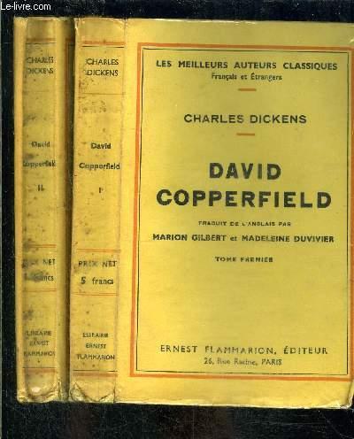 DAVID COPPERFIELD- 2 TOMES EN 2 VOLUMES
