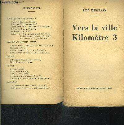 VERS LA VILLE KILOMETRE 3- VENDU EN L ETAT