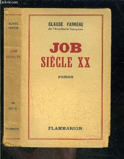 JOB SIECLE XX