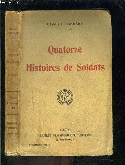 QUATORZE HISTOIRES DE SOLDATS