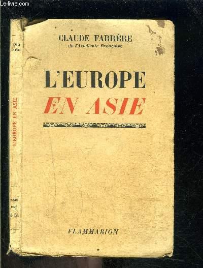 L EUROPE EN ASIE