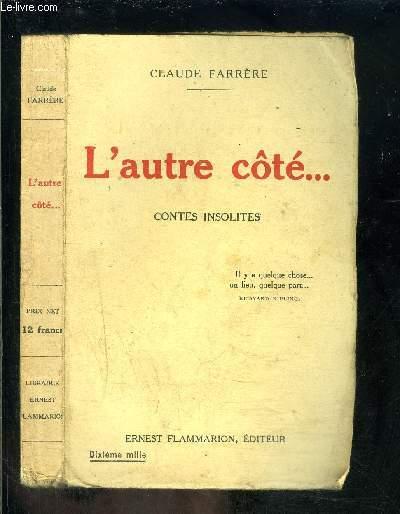 L AUTRE COTE... CONTES INSOLITES
