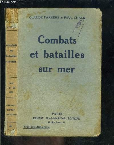 COMBATS ET BATAILLES SUR MER- SEPTEMBRE 1914- DECEMBRE 1914