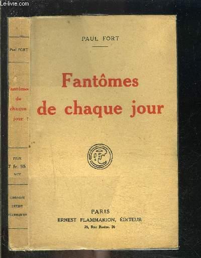 FANTOMES DE CHAQUE JOUR/ BALLADES FRANCAISES