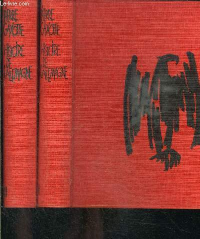 HISTOIRE DE L ALLEMAGNE- 2 TOMES EN 2 VOLUMES