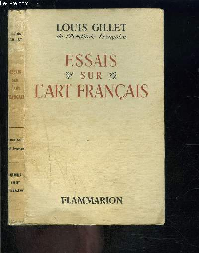 ESSAIS SUR L ART FRANCAIS