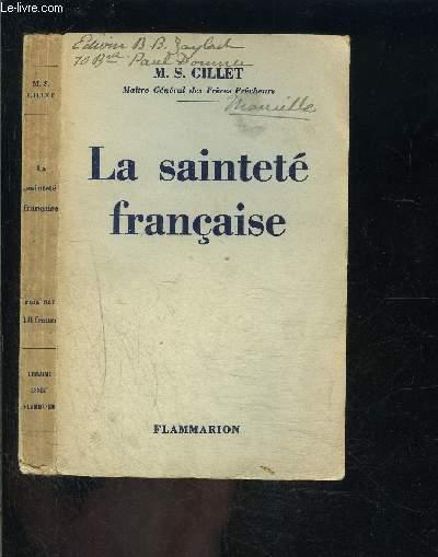 LA SAINTETE FRANCAISE