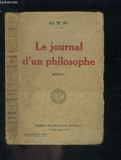 LE JOURNAL D UN PHILOSOPHE