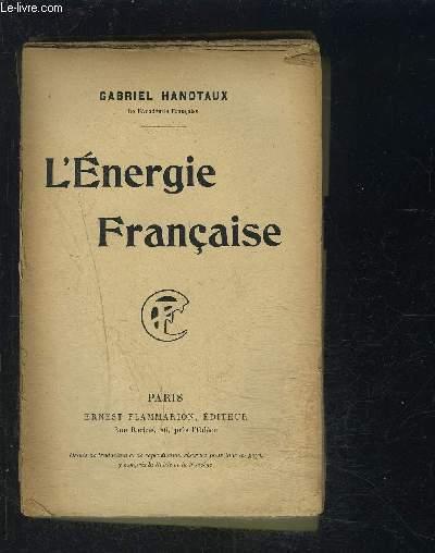 L ENERGIE FRANCAISE