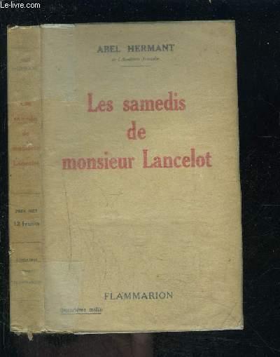 LES SAMEDIS DE MONSIEUR LANCELOT