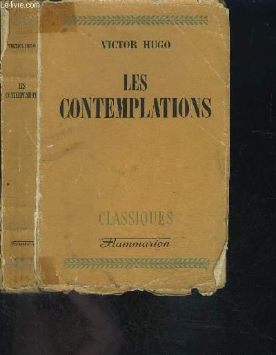 LES COMTEMPLATIONS- COLLECTION LES CLASSIQUES