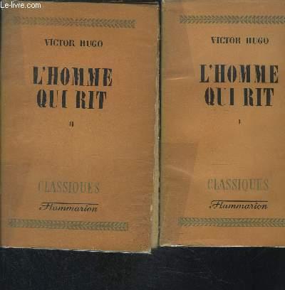 L HOMME QUI RIT- 2 TOMES EN 2 VOLUMES / COLLECTION CLASSIQUES