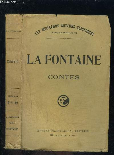 LA FONTAINE CONTES