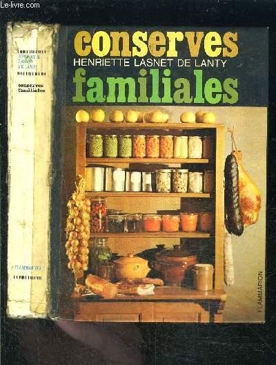 CONSERVES FAMILIALES