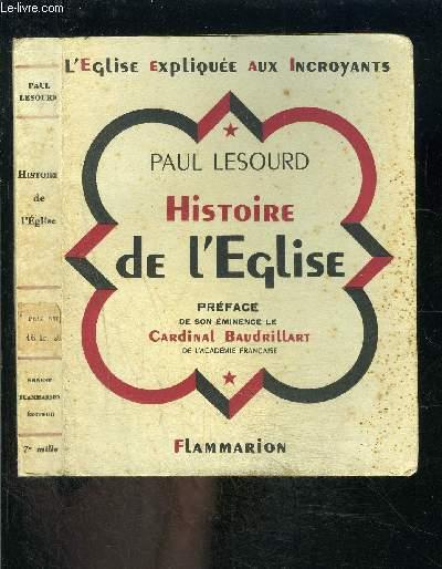 HISTOIRE DE L EGLISE