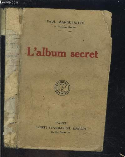 L ALBUM SECRET