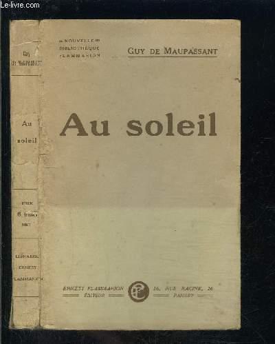 AU SOLEIL