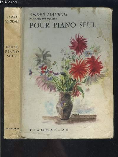 POUR PIANO SEUL