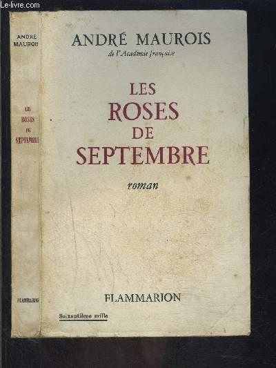 LES ROSES DE SEPTEMBRE