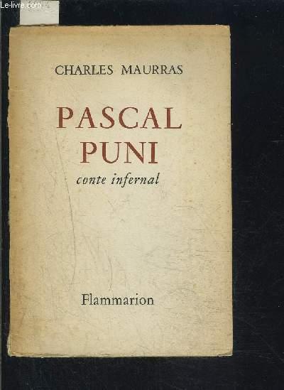 PASCAL PUNI- CONTE INFERNAL