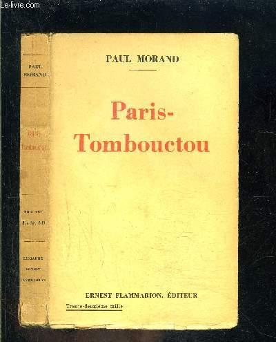 PARIS TOMBOUCTOU- DOCUMENTAIRE