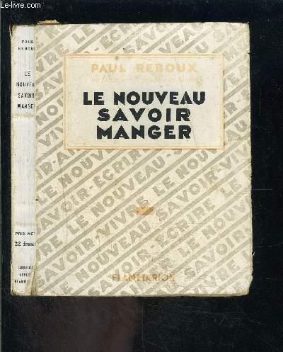 LE NOUVEAU SAVOIR MANGER
