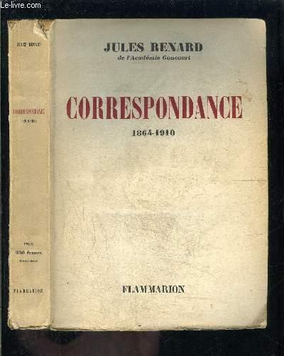 CORRESPONDANCE- 1864-1910