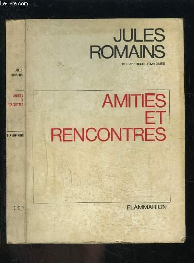 AMITIES ET RENCONTRES