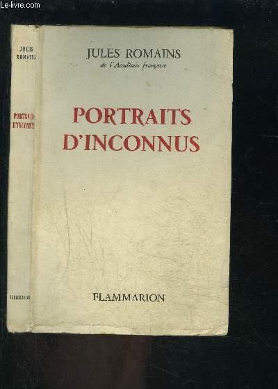PORTRAITS D INCONNUS