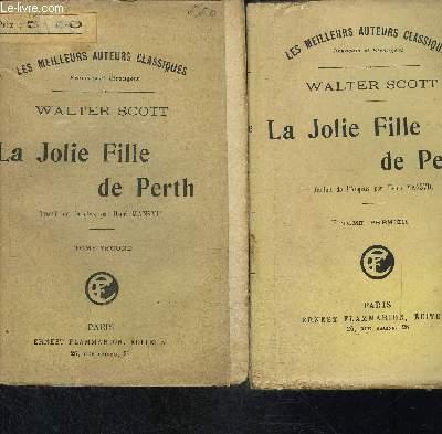 LA JOLIE FILLE DE PERTH- 2 TOMES EN 2 VOLUMES- COLLECTION LES MEILLEURS AUTEURS CLASSIQUES