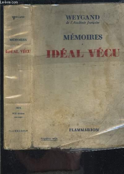 MEMOIRES- TOME 2 IDEAL VECU