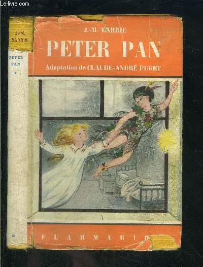PETER PAN- FEERIE EN CINQ ACTES ET HUIT TABLEAUX