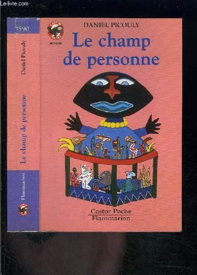 LE CHAMP DE PERSONNE- PERE CASTOR N°590