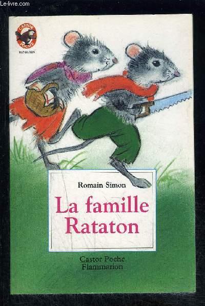LA FAMILLE RATATON- CASTOR POCHE N°5075