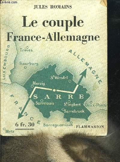 LE COUPLE FRANCE ALLEMAGNE
