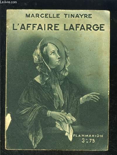 L AFFAIRE LAFARGE