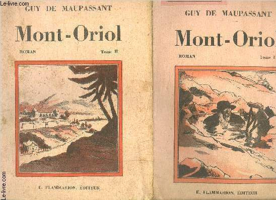 MONT ORIOL- 2 TOMES EN 2 VOLUMES- SELECT COLLECTION N°317 +318