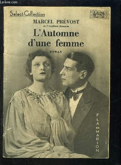 L AUTOMNE D UNE FEMME- SELECT COLLECTION N°82