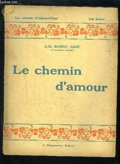 LE CHEMIN D AMOUR- LE ROMAN D AUJOURD HUI