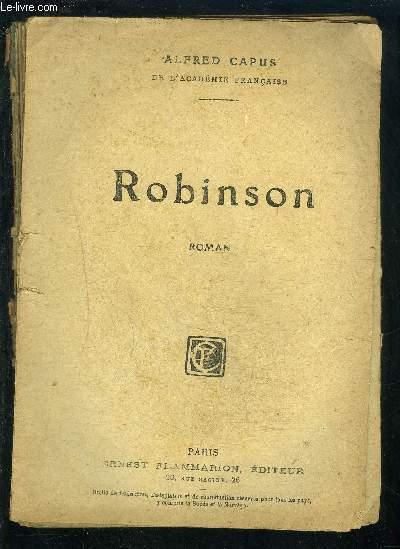 ROBINSON- SELECT COLLECTION- VENDU EN L ETAT