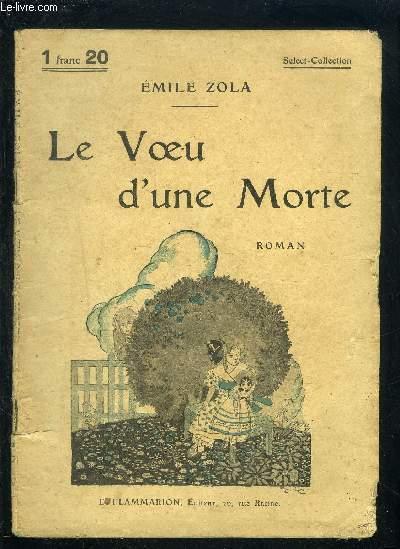 LE VOEU D UNE MORTE- SELECT COLLECTION